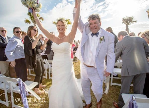 Charleston South Carolina wedding day