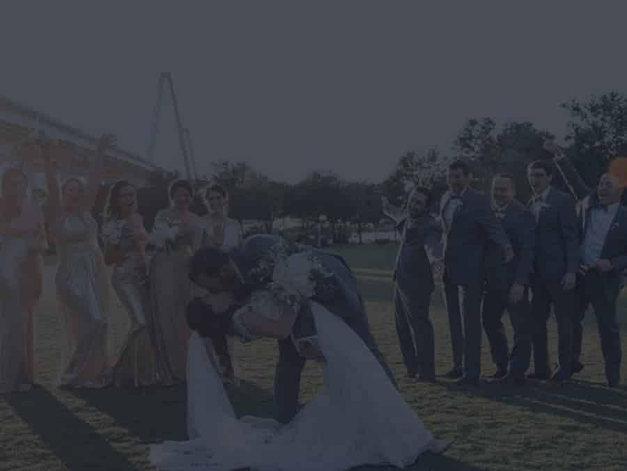 Wedding party in Charleston